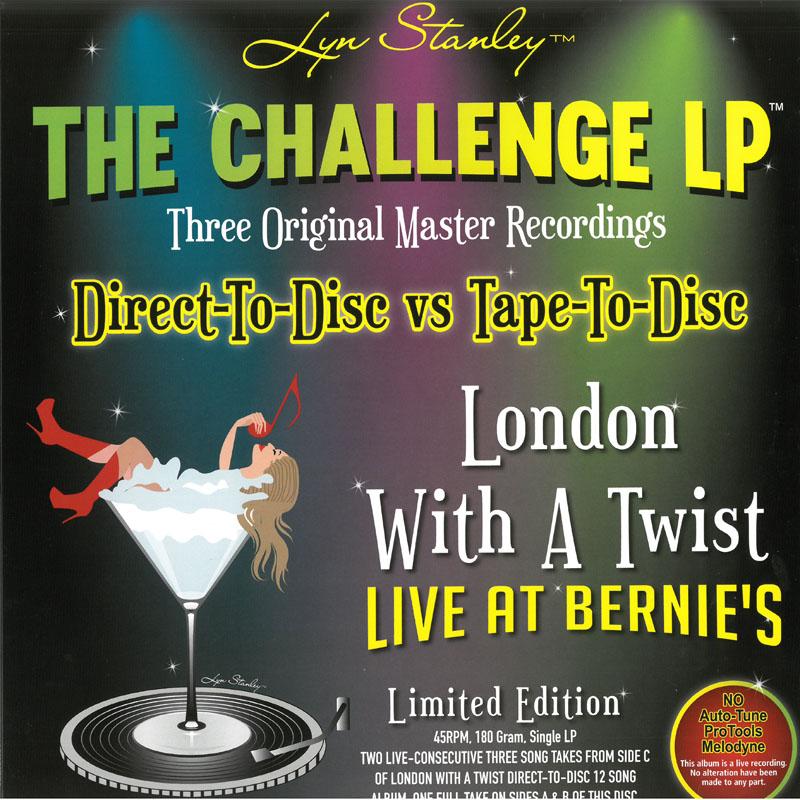 Lyn Stanley / The Challenge 180G 45RPM LP